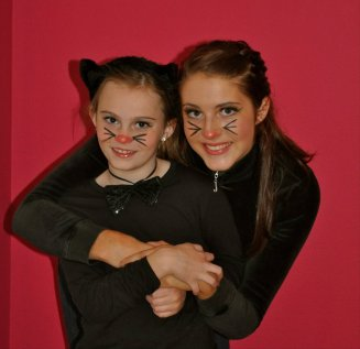 Age 16: A Black Cat with My Sister